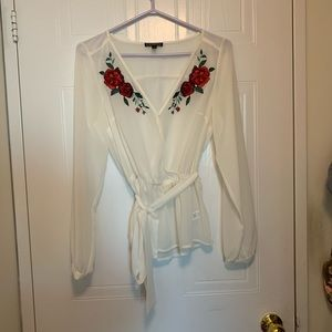 Express Wrap Blouse